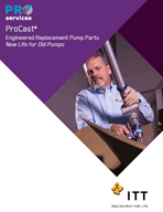 ProCast Engineered Replacement Pump Parts